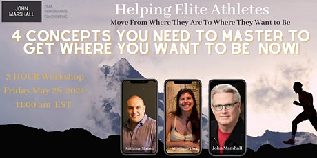 4 Concepts You Need To Master To Gain Clarity of Purpose - 4 Hour Workshop tickets