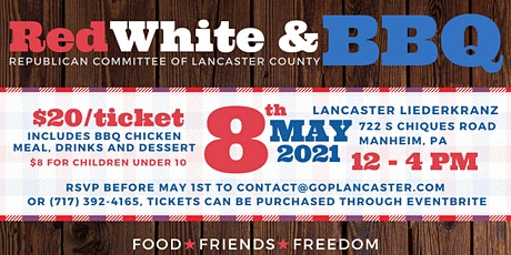 RCLC's Red White and BBQ tickets