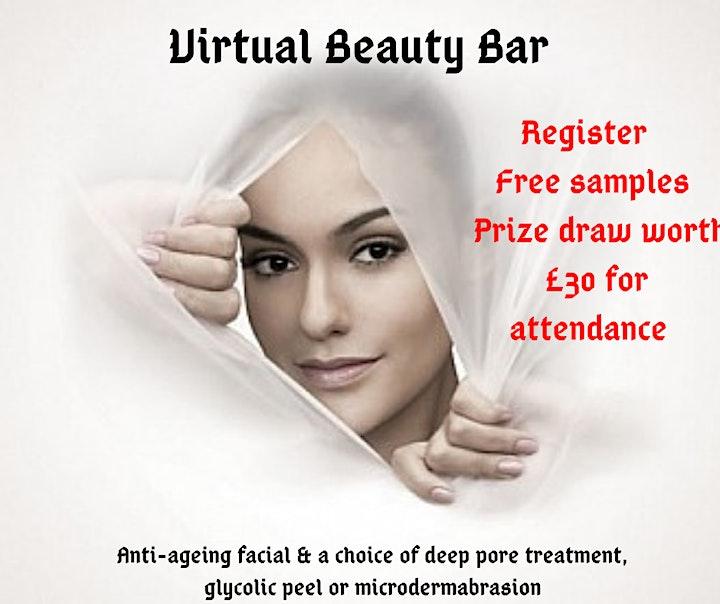 Virtual Beauty Bar - Free Skincare Samples image
