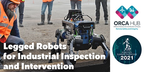 Legged Robots for Industrial Inspection and Intervention tickets