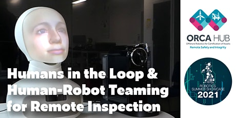 Humans in the Loop and Human-Robot Teaming for Remote Inspection tickets