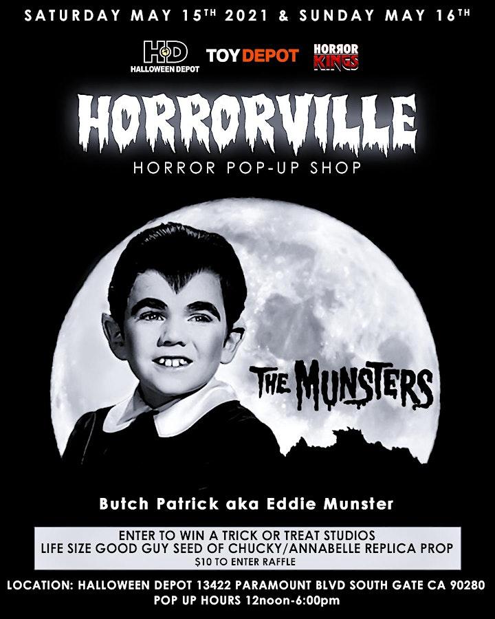 HORRORVILLE Pop Up Shop @ Halloween Depot image