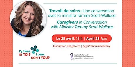 Caregivers in Conversation | Une conversation sur le travail de soins tickets