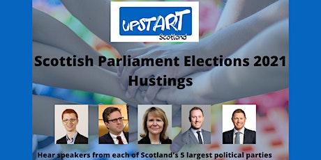 Upstart Scotland Hustings tickets