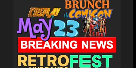 LYNBROOK OUTDOOR CON with Cosplay BRUNCH RETROFEST LIVE BANDS LONG ISLAND tickets
