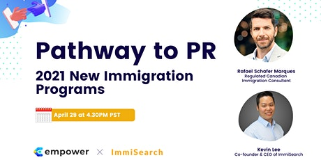 Pathway to PR: 2021 New Immigration Programs tickets