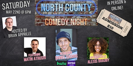 North County Comedy Night - IN PERSON or Online! tickets