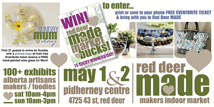 Red Deer MADE Artisan Market image
