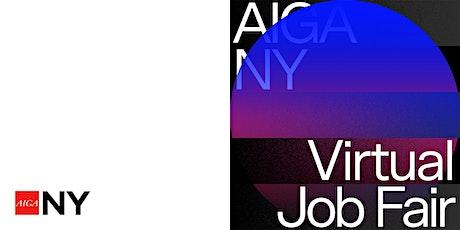 AIGA NY ~ Virtual Job Fair tickets