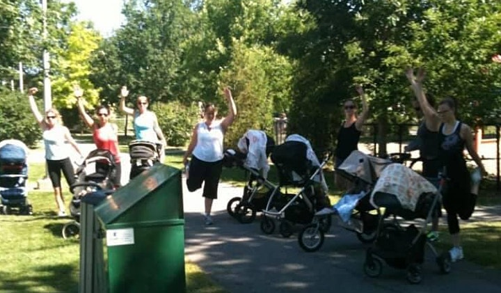 Stroller Workout - Saturday Group image
