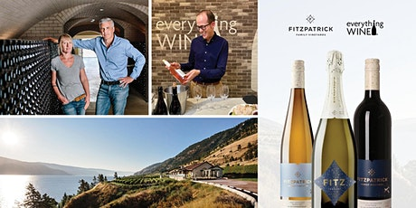 Fitzpatrick Vineyards and Everything Wine  Virtual Tasting tickets