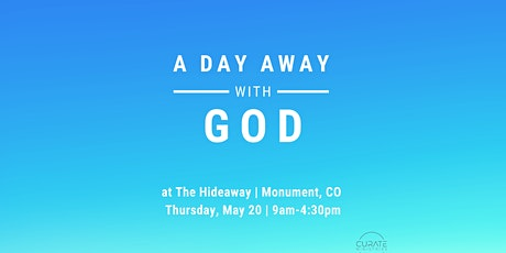 A Day Away with God tickets