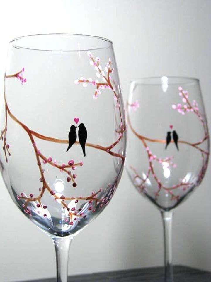 June Wine Glass Paint and Sip image