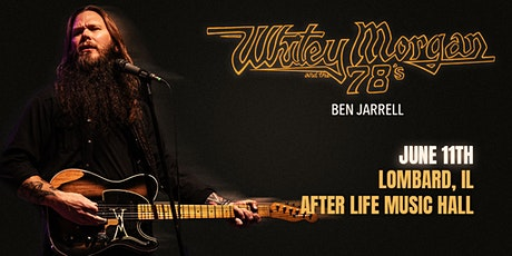 Whitey Morgan full band at Afterlife Music Hall tickets