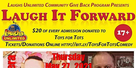 Toys for tots charity/comedy night tickets