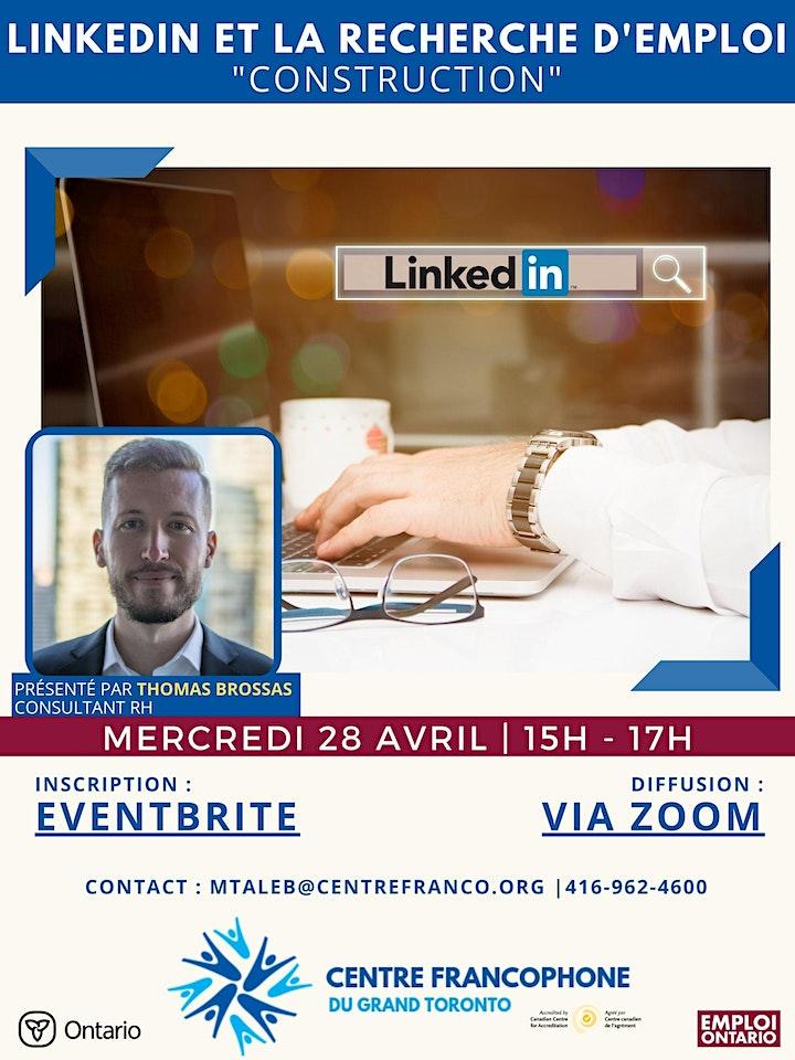LinkedIn et la recherche d'emploi image