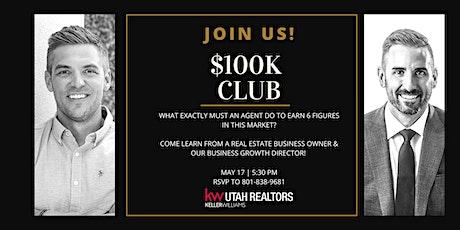 May $100K Club tickets