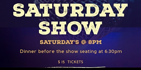 Gregory's Comedy Club Saturday Shows @ 8pm! tickets