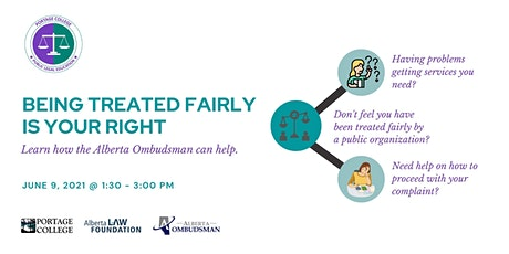 Alberta Ombudsman Information Session tickets