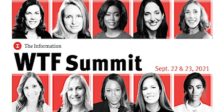 The Information's 2021 WTF Summit tickets