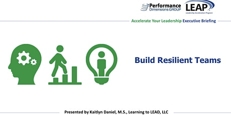 Build Resilient Teams tickets