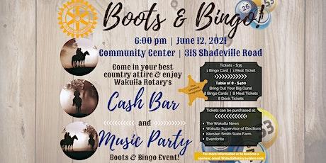Boots & Bingo! tickets