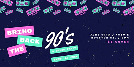90's Throw Back Party tickets