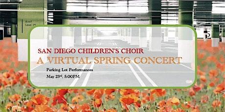 San Diego Children's Choir - A Virtual Spring Concert tickets
