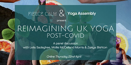 Panel: Reimagining UK Yoga post-Covid tickets