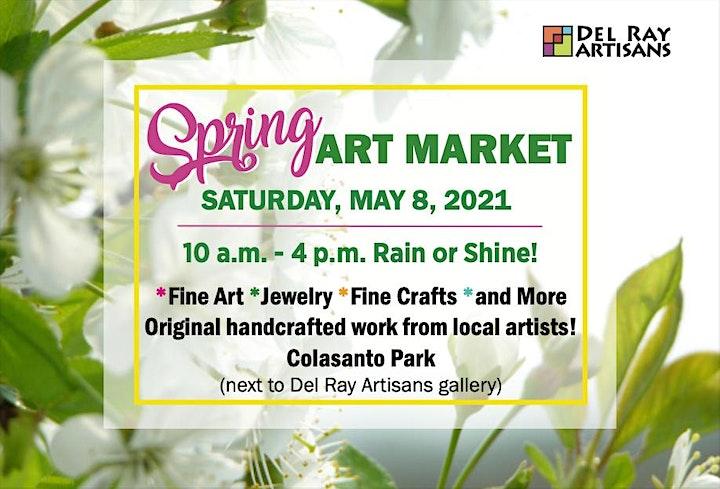 Spring Art Market (Outdoor, RAIN or SHINE!) image