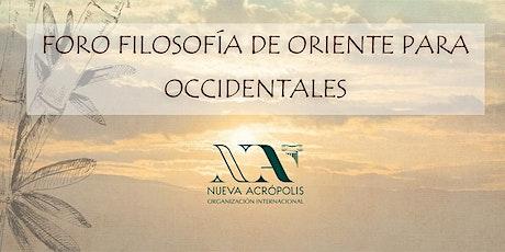 FORO DE FILOSOFIA DE ORIENTE PARA OCCIDENTALES biglietti