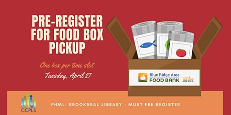 Brookneal Boxed Food - April 27, 2021 tickets