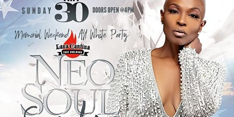 NEO SOUL SUNDAYS [Memorial Weekend All White Party] feat Melodie Nicole tickets