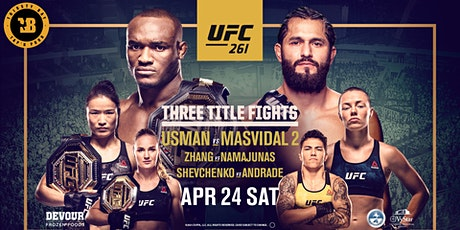 UFC 261  Watch  Party @ ThirstyBay Tap 'n   Pour tickets