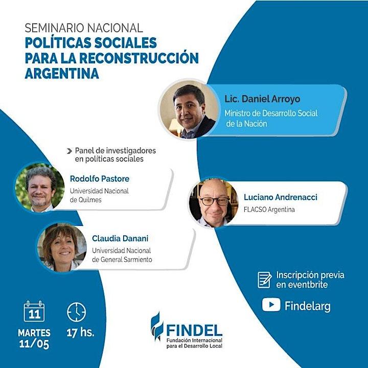 Imagen de Políticas sociales para la reconstrucción argentina
