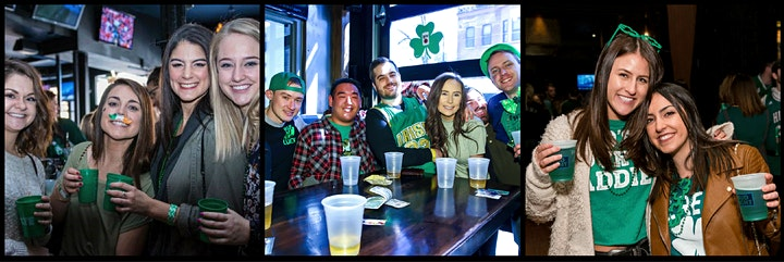 Chicago River Crawl - River North's St. Paddy's Day Bar Crawl image