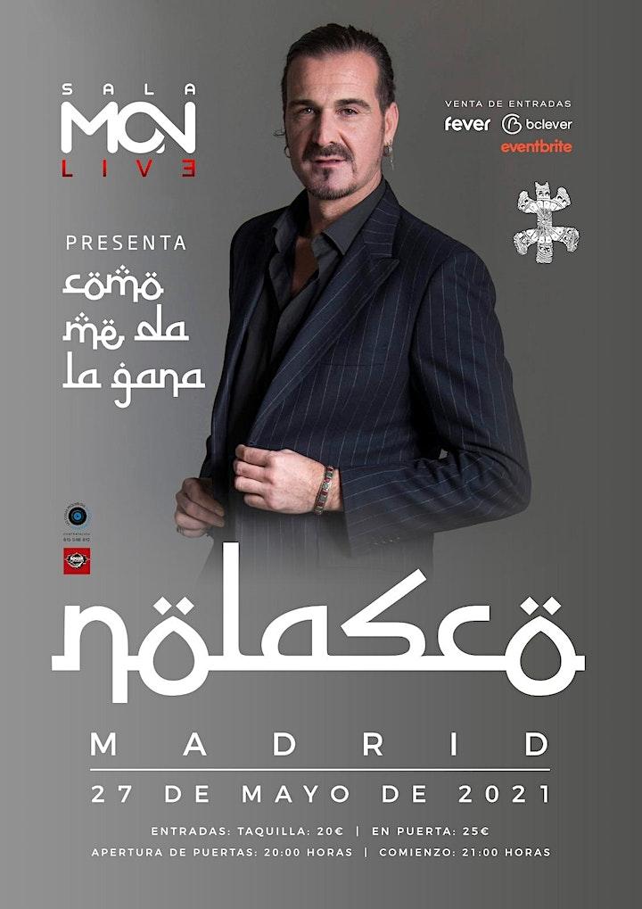 Imagen de NOLASCO presenta: ''Como me da la gana'' SALA MON (Madrid)