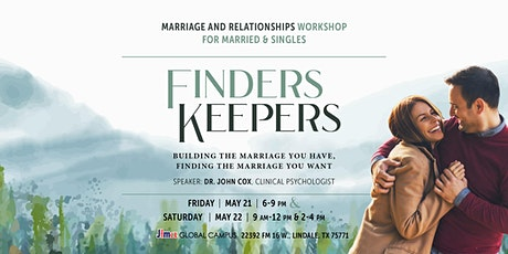 Finders Keepers - A Workshop on Marriage tickets