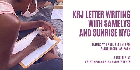 KRJ Letter Writing with Samelys and Sunrise NYC tickets