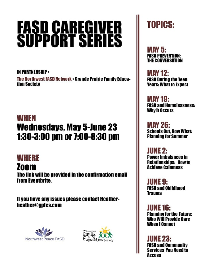 FASD Caregiver Support Series image