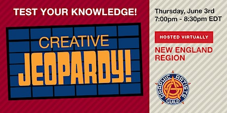 Creative Jeopardy! tickets