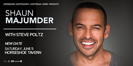 Shaun Majumder with very special guest Steve Poltz tickets