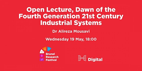 Open Lecture, Dawn of the Fourth Generation 21st Century Industrial Systems tickets