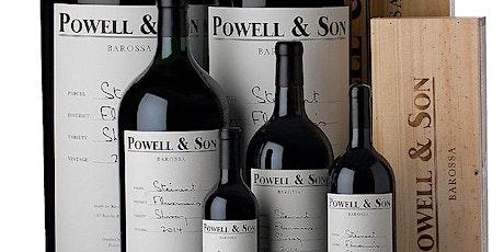 Powell and Son Australian Wine Tasting tickets