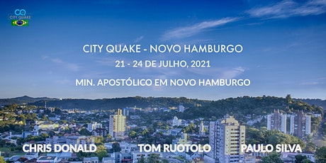 CITY QUAKE NOVO HAMBURGO - BRASIL ingressos