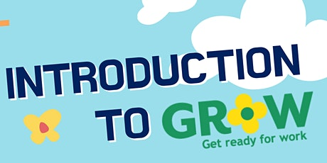 An Introduction to the GRoW Programme tickets