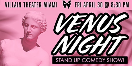 Venus Night - Stand-Up Comedy Show tickets