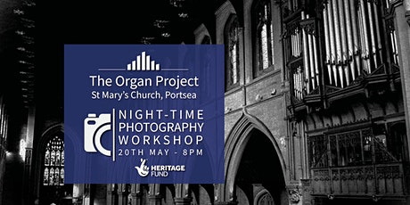 The Organ Project : Night-time Photography Workshop tickets