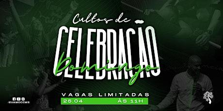 CELEBRAÇÃO CARVALHO 25.04 ÀS 11H ingressos