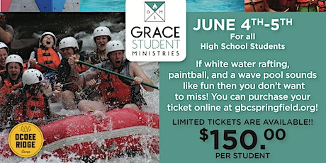 GBC High School: Ocoee Ridge Camp tickets